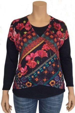 Bagoraz flowers T-shirt