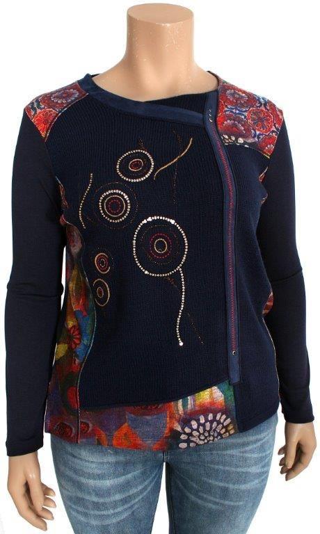 sweater Asymmetric bagoraz