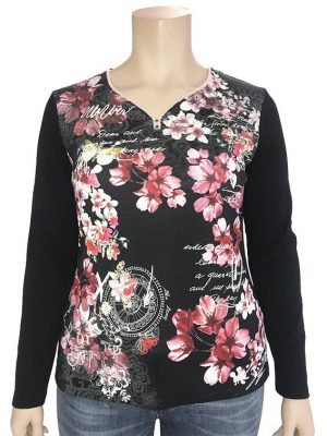 Flowers Bagoraz Cotton sweater
