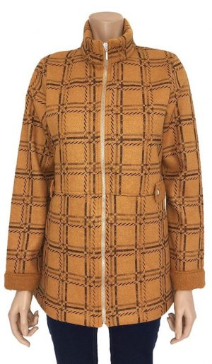 Yellow Kalisson Coat