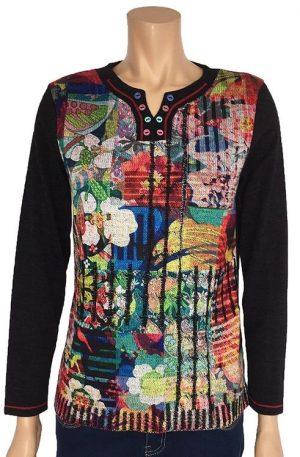 kalisson flowers sweater