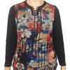 Button Placket bagoraz sweater