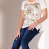 Bagoraz Women TShirt, White, 100% Cotton